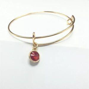 Jewelry - Fashion Gold Tone Expandable Bangle Wire Bracelet